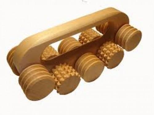 купить ручной массажер деревянный